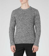 Reiss Panther Cable Knit Jumper