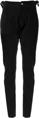 Sulvam D-ring buckle trousers