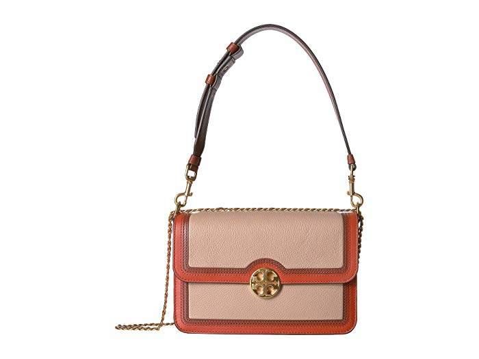 Tory Burch Chelsea Color Block Convertible Shoulder Bag