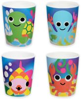 French Bull Ocean Kids Juice Cups (Set of 4)