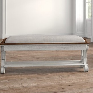 Kelly Clarkson Home Interlude Wood Bedroom Bench