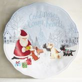 Pier 1 Imports Cold Noses Warm Hearts Melamine Dinner Plate