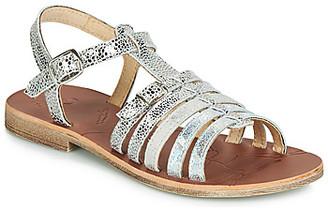 GBB BANGKOK girls's Sandals in Silver