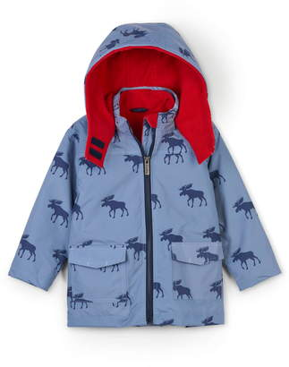 Hatley Moose Silhouettes 4-in-1 Hooded Winter Jacket