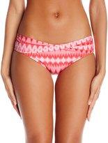 CoCo Reef Women's Rio Diamond Star Banded Bikini Bottom