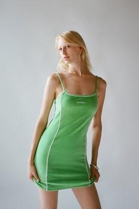 iets frans... iets frans Velour Mini Slip Dress