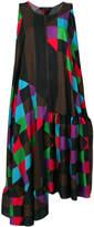 Ter Et Bantine printed midi swing dress