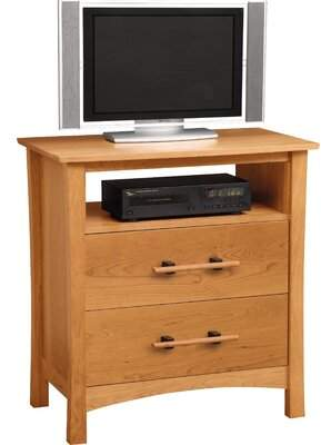 Copeland Furniture Monterey Solid Wood TV Stand for TVs up to 32 inches Copeland Furniture Color: Autumn Cherry