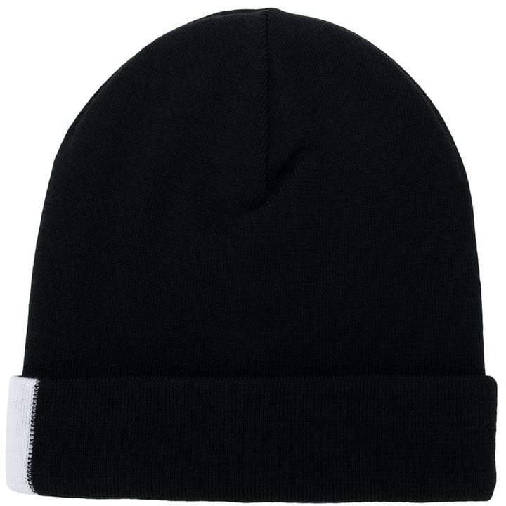 Givenchy colour-block beanie hat