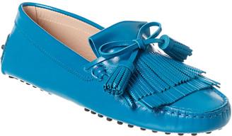 Tod's Gommino Fringe Tassel Leather Driving Shoe