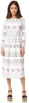 Endless Rose Long Sleeve Print Dress