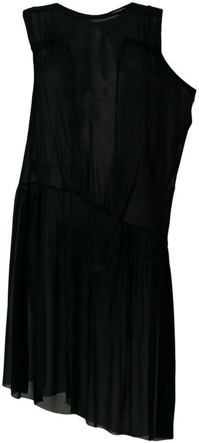 Ann Demeulemeester layered evening dress