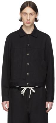 Y-3 Black Canvas Workwear Jacket