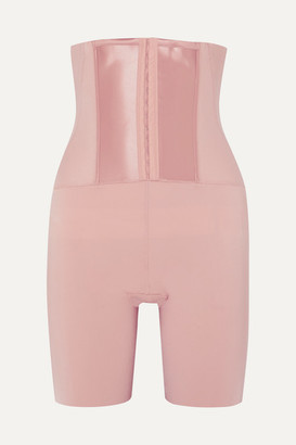 Spanx Under Sculpture High-rise Control Shorts - Antique rose