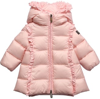 Il Gufo Hooded Nylon Down Coat