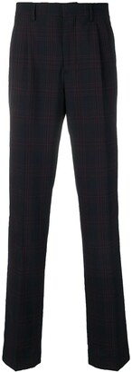Calvin Klein Tartan Pattern Trousers