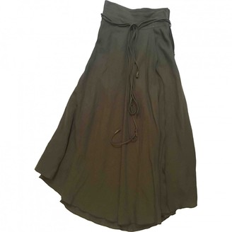 Apiece Apart Green Synthetic Skirts