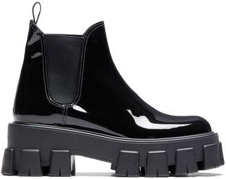 Prada Monolith Chelsea boots
