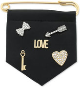 BCBGeneration Two-Tone Love Pin Set