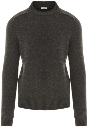 Saint Laurent Round-Neck Sweater