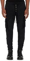 Greg Lauren Men's Cotton Slim Cargo Lounge Pants