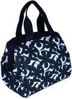 Fit & Fresh Charlotte Insulated Chiller Lunch Bag in Black/White