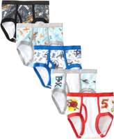 Disney Handcraft Little Boys' Planes 5 Pack Brief