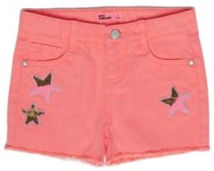 Epic Threads Little Girls Star Flip Denim Shorts