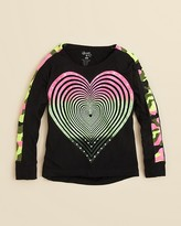 Flowers by Zoe Girls' Neon Camo Shirt - Sizes 4-6X