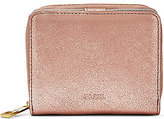 Fossil Emma Metallic RFID Mini Multifunction Wallet