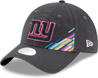 New Era Women's Heather Gray New York Giants 2019 NFL Crucial Catch 9TWENTY Adjustable Hat