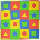 Tadpoles TadpolesTM by Sleeping Partners First Shapes 16-Piece Playmat Set in Primary Multicolor