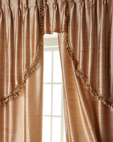 """Sweet Dreams Two 52""""W x 108""""L Curtains with Tassel Fringe at Bottom"""