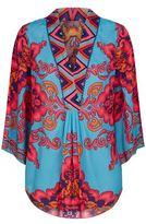 Hale Bob Floral Kimono Top