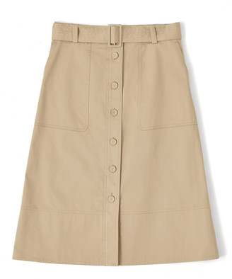 Jigsaw Belted Utility Trench Skirt