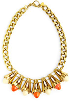 Anton Heunis Multi Cone Necklace With Crystals