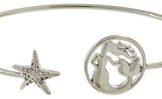 Fashion Jewelry Mermaid-Star Silver Cuff-Bracelet