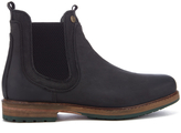 Barbour Cullercoats Leather Chelsea Boots Black