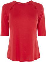 Karen Millen Tiny Cut-out Top - Red