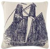 Thomas Paul Ship/Wheel Pillow
