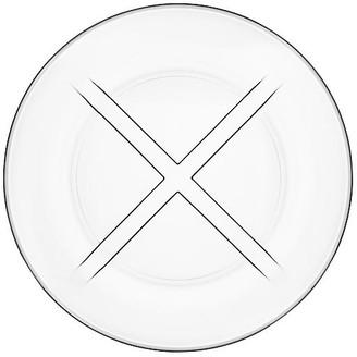 Kosta Boda Bruk Salad Plate - Clear