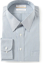 Roundtree & Yorke Gold Label Big & Tall Non-Iron Regular Full-Fit Point Collar Stripe Dress Shirt
