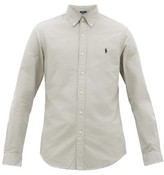 Polo Ralph Lauren Slim-fit Cotton Oxford Shirt - Mens - Grey
