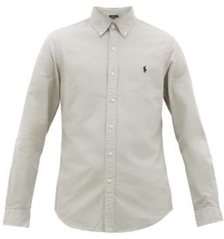 Polo Ralph Lauren Slim-fit Cotton Oxford Shirt - Mens - Grey
