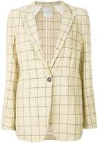 Forte Forte oversized checked blazer