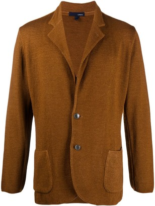 Lardini V-Neck Knit Cardigan