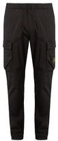 Stone Island Double-pocket Cotton-blend Cargo Trousers