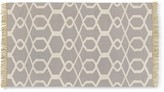 Williams-Sonoma Scroll Tile Kitchen Rug, Gray