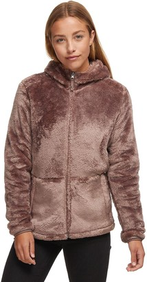 Stoic Hooded Zip-Up Fuzzy Fleece Jacket - Women's