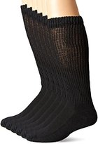 Dr. Scholl's Men's 6 Pack Over-The-Calf Diabetic Socks